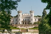 picture of manor  - Old Manor in Ukraine near kharkiv was a sanatorium - JPG