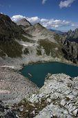 Murudzhinskoe Chorni Lake, West Caucasus