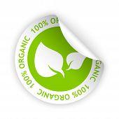 Organic Bent Sticker
