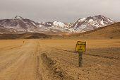 Siloli Desert In South Bolivia