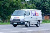 FedEx van