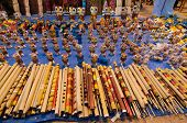 Flutes, Art Work , Indian Handicrafts Fair At Kolkata