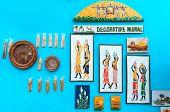 Murals , Art Work , Indian Handicrafts Fair At Kolkata