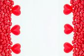 Valentine Day candy frame