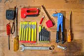Various old craftsman tools