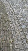 old paving