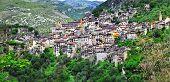 picturesque mountain village Saorge, Alpes Maritimes , France