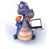 pic of dragon head  - Fun dragon - JPG
