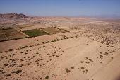 picture of geoglyph  - Desert View Nazca bird - JPG
