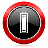battery icon power sign