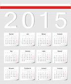 Polish 2015 Calendar