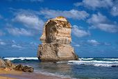 picture of 12 apostles  - beautiful twelve apostles at ocean in Australia - JPG