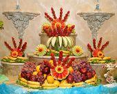 Carved Fruit Arrangement
