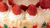 Colourful Ice Cream Cake