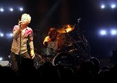 Kevin Cronin & Bryan Hitt on Stage