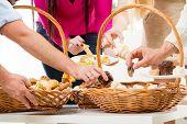 Catering In Wicker Baskets