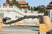 Taoist Scripture Statue