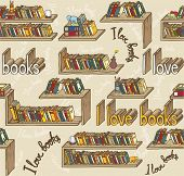Book Seamless Pattern