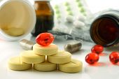 Vitamins supplements.