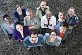 Diversity Business People Aspiration Teamwork Concept