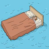 Sleeping On A Waterbed