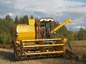 Harvester-thresher details