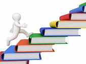 Runner and books