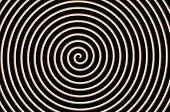 Black Brown White Spiral