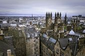 Постер, плакат: Edinburgh skyline Edinburgh Scotland