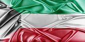 image of kuwait  - Kuwait Flag - JPG