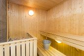 stock photo of sauna  - Sauna  - JPG