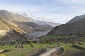 pic of mustang  - Kagbeni city in lower Mustang district Nepal - JPG