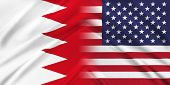 stock photo of bahrain  - Relations between two countries - JPG