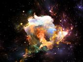 stock photo of fractals  - Once Upon a Space series - JPG