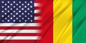 foto of guinea  - Relations between two countries - JPG