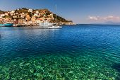 stock photo of hydra  - Hydra Island - JPG
