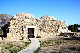 foto of ottoman  - Ancient ruin Medieval Ottoman Turkish Baths - JPG