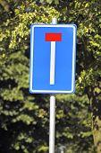 T-junction Road Sign