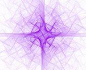 Purple Liturgical Cross