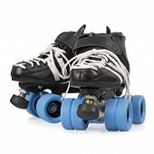 Roller Derby Skates Isolated