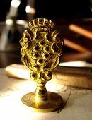 Antique Brass Seal