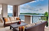 Furnished Ocean View Terrace