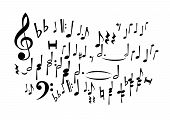 Music Notes (Vector)