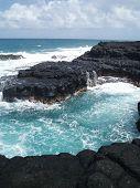 Turquoise Lava Pool