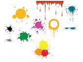 Vector Color Spots