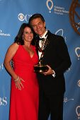 LAS VEGAS - JUN 19:  Lisa Oz, Dr. Mehmet Oz in the Press Room of the  38th Daytime Emmy Awards at Hi