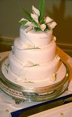 Simple Modern Wedding Cake