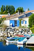 Port des Salines, Oleron Island, Poitou-Charentes, France