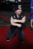 LOS ANGELES - APR 10: Puppet, leader of Half Pint Brawlers at the Jackass 3D premiere held at Grauma