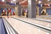 Hall For Game In Bowling